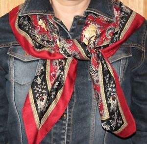 Winter White Ruffle Scarf/_Perfect Christmas Gift M/&S COLLECTION Red Black