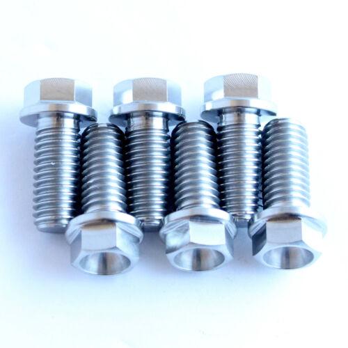no:0025080256 Half the weight KTM style M8 x 25mm TITANIUM bolt