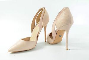 DAISY-STREET-High-Heels-Nude-Gr-6-EU39-Absatzschuhe-Pumps-Damen-Schuhe-R6-M2