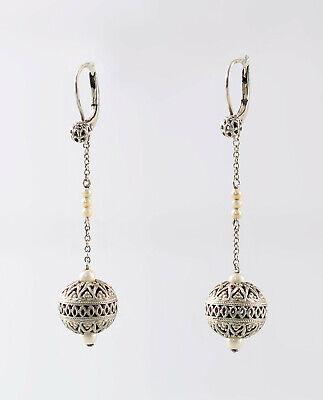 Verantwortlich 8425183 835er Silber Kugel-ohrringe Perlen L5cm