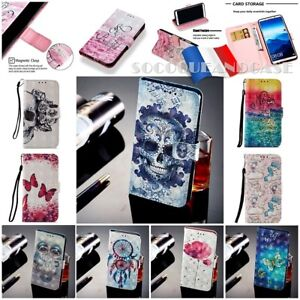 Etui-housse-coque-Cuir-PU-Leather-Case-Samsung-Galaxy-A10-A20-A30-A50-A70-Film