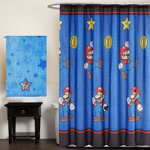 nEw CHILDRENS BATHTUB SHOWER CURTAIN Character Toddler Bathroom Accessory