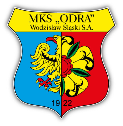 Odra Wodzislaw FC Poland Soccer Football Car Bumper Sticker Decal 5/'/' x 5/'/'