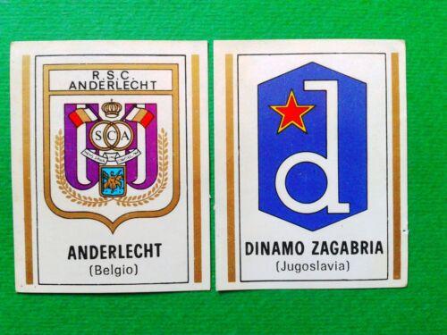rec. scudetti a scelta dal n.121 al n.180 MAX CALCIATORI PANINI 1971//72