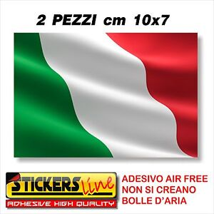 2PZ-Adesivo-BANDIERA-ITALIANA-cm10x7-adesivi-bandiera-italiana-tricolore-ITALIA