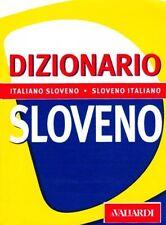 Dizionario sloveno. Italiano-sloveno, sloveno-italiano -Libro nuovo in offerta !