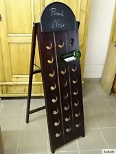 L1582 Rüttelpult ~ Weinregal für 24 Flaschen mit Tafel ~ Rüttelbrett ~ Repro