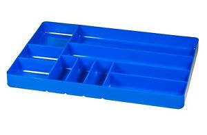3-Compartments Ernst Manufacturing Organizer Tray Blue