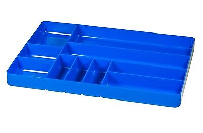 "Ernst 5012   11"" x 16"" Ten Compartment Toolbox Organizer Tray  - Blue"