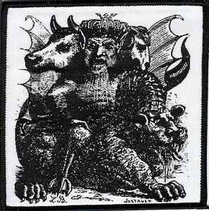 Asmodeus-Patch-King-of-the-Demons-Satan-Occult-Pagan-Witch-Goat-The-Devil-Demon