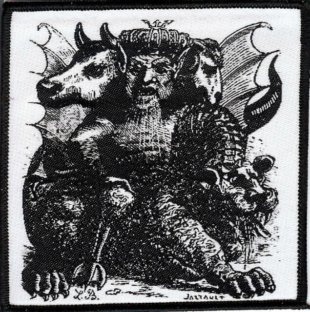Asmodeus Patch King of the Demons Satan Occult Pagan Witch Goat The Devil Demon