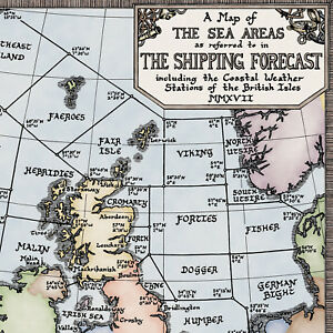 Limited-Edition-Colour-Shipping-Forecast-Map-Fine-Art-Prints-by-Manuscript-Maps