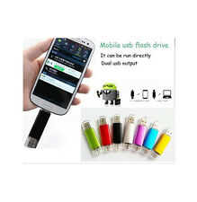 16GB Micro USB 2.0 Flash Pen Memory Stick U Disk for OTG phone Android Tablet
