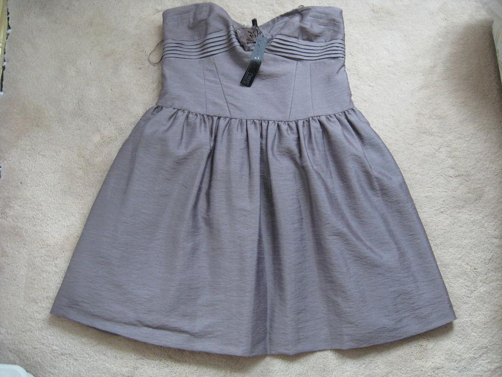 Next Signature Strapless Party Short Mini Ball Dress (NEW) UK size 14-