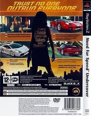 Need For Speed Undercover, PS2, racing
