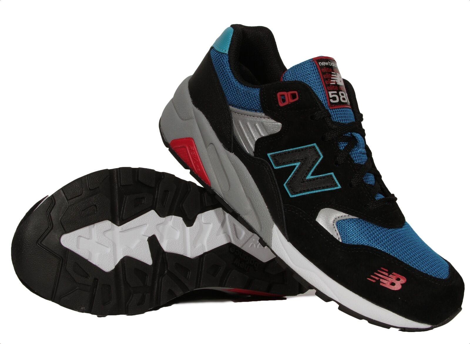 New Balance 580 Elite Edition Pinball noir hommes Running Chaussures MRT580BF NIB