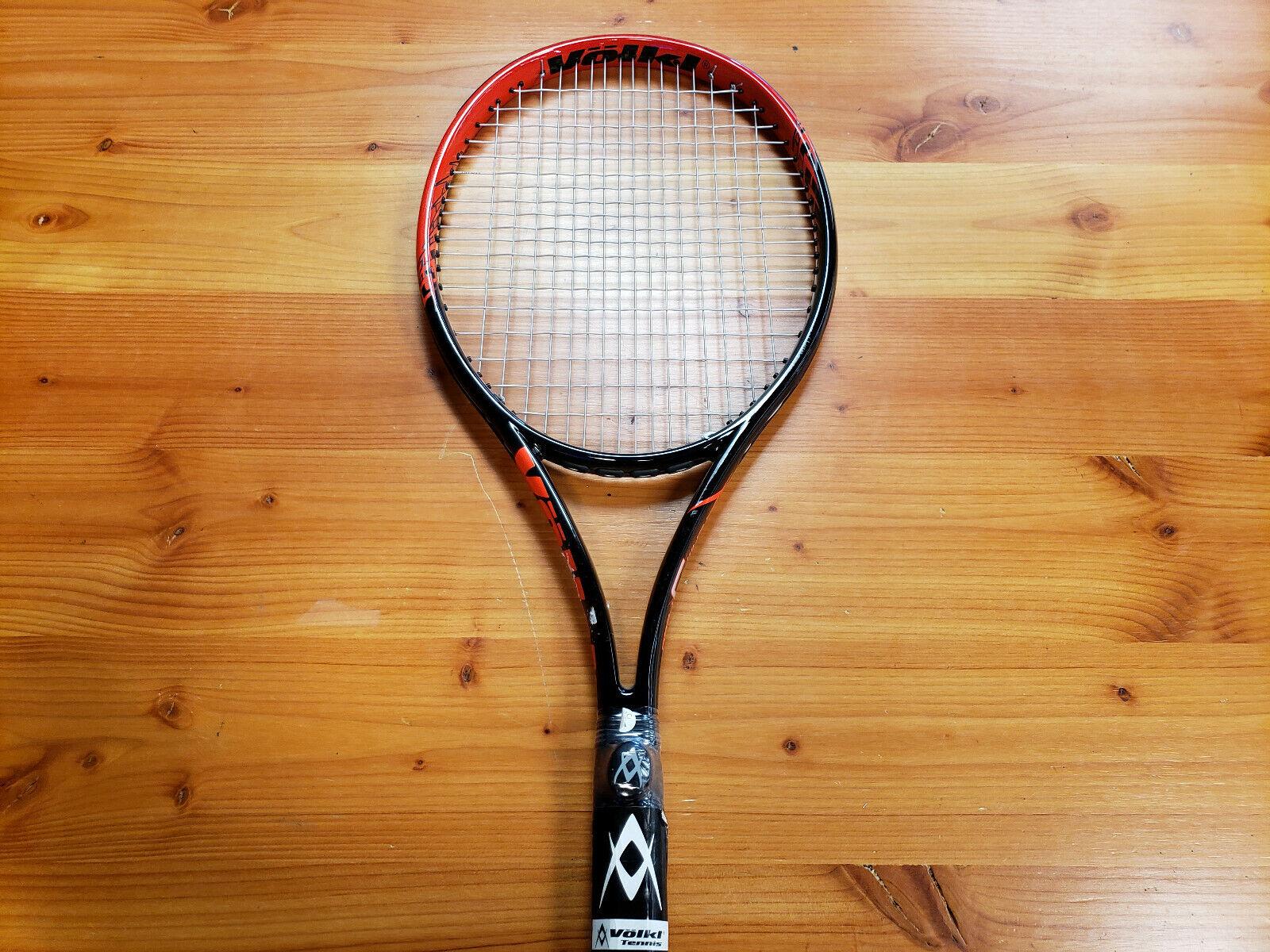 Volkl equipo Velocidad Negro Lava Tenis Raqueta Agarre _ 3 8