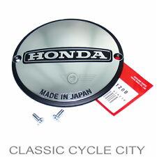 Honda CB 400 Four Deckel Lichtmaschine LiMa + Schrauben Cover B Alternator Kit
