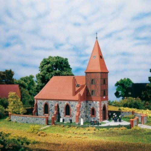 AUHAGEN 11405 Chiesa piccola villaggio Chiesa h0 OVP NUOVO