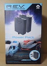 Robotic Enhanced Vehicle R.E.V. POWER PACK - 2 Battery Packs & 2 USB Cables NOS