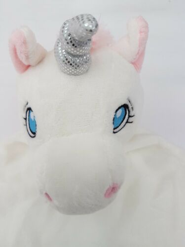 New Baby birth Gift Cubbie Personalised UNICORN Baby Comforter snuggle Blanket