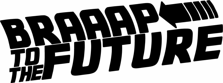 Keep Calm Braaap Motocross Dirt Bike Car Trailer Vinyl Decal Sticker KTM Yamaha