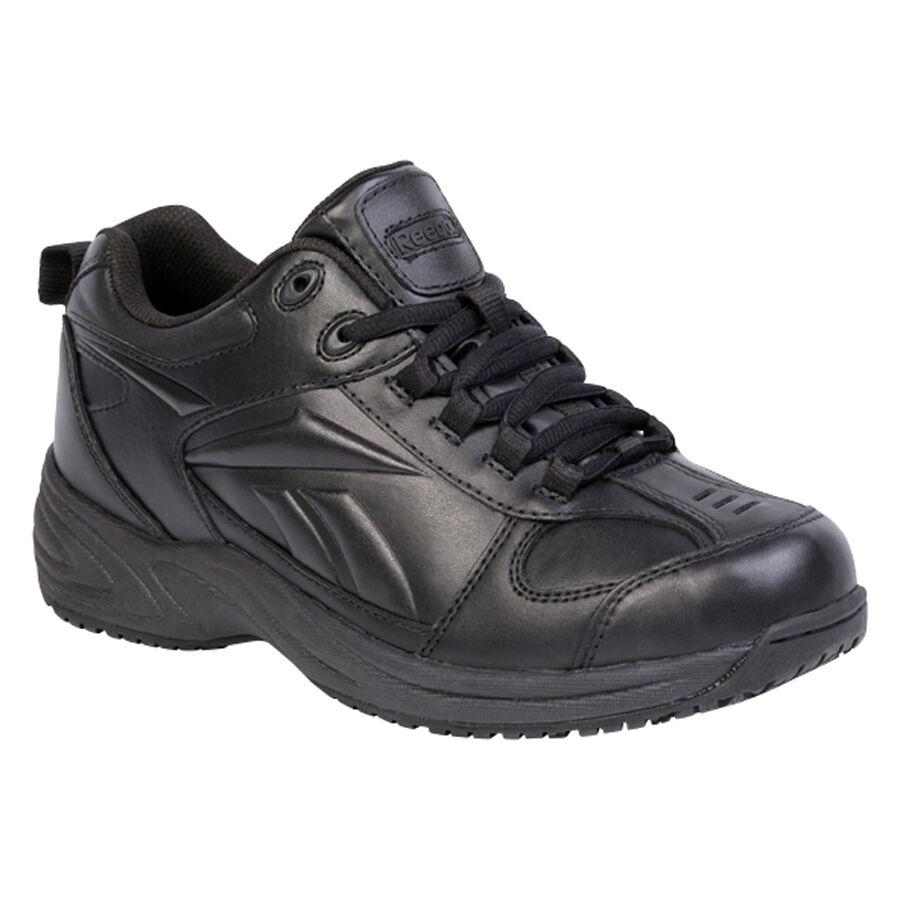 Reebok rb1100 Para Hombre jorie Street Sport Jogger bota de trabajo suave Puntera Cuero Negro