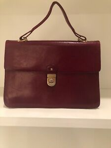 Vintage Bally Quilted Leather Bag
