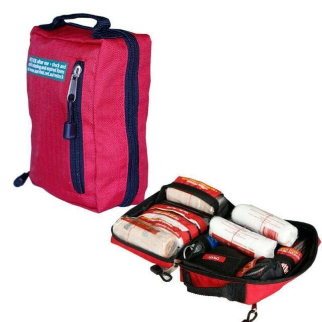 52 Pieces Survival First Aid Kit - Workplace, Office, Home, Car, Boat,Travel