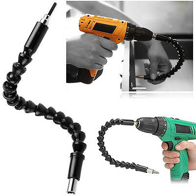 Flexible Shaft Extension Screwdriver Drill Bit Holder Link for Electronic Drill