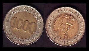 EQUATEUR-ECUADOR-1000-SUCRES-1997-E11
