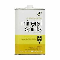 Sunnyside Corporation 80332 1-quart Mineral Spirits, New, Free Shipping on sale