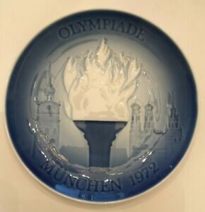 Bing & Grondahl Olympic Games Munich 1972 First Issue Porcelain Collector Plate