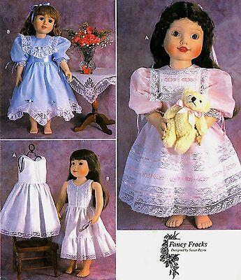 "Simplicity 9523 18/"" Girl Doll Pattern Fairy Costumes Fancy Frocks Susan Payne"