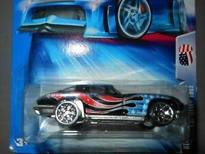 2004 Hot Wheels Star Spangled 2 Series Corvette 1963 #127