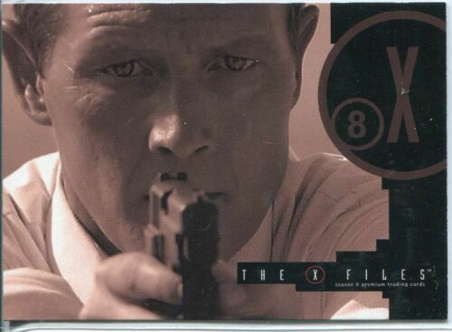 X Files Seasons 6 /& 7 Casetopper Caseloader Chase Card CL-1