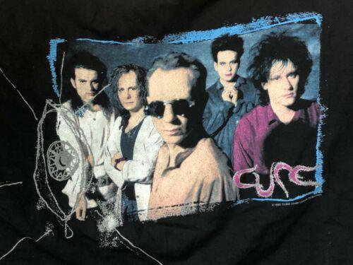 VINTAGE The CURE WISH Concert TOUR Shirt 1992 Blac