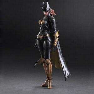 Play-Arts-Kai-Batman-Arkham-Knight-Batwoman-Action-Figure-Doll-Model-Toy-Gifts
