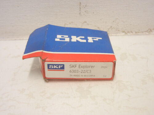 SKF EXPLORER 6303-2Z//C3 NEW BALL BEARING 63032ZC3