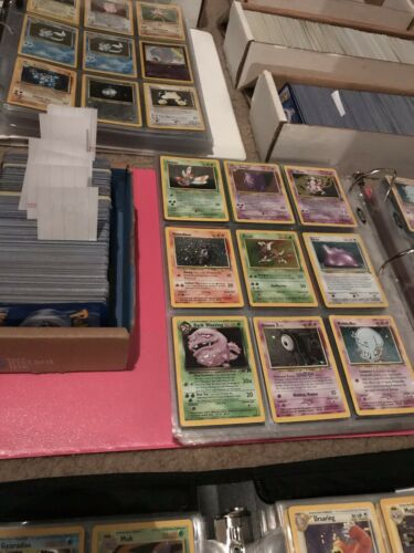 200 Lot Vintage Rare Pokemon Cards Guaranteed 4 1st Edition Cards
