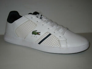 LACOSTE-NOVA-TRAINERS-WHITE-SNEAKERS-SHOES-MEN-9-8-42