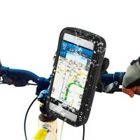 SSG WATERPROOF MOUNTAIN BIKE BICYCLE HANDLE BAR MOBILE PHONE MOUNT HOLDER CASE