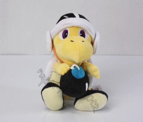 Bomb Koopa Troopa /& Kamek Magikoopa Plush Doll Figure Toy 2pcs Super Mario Bros