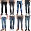 Nudie-Herren-Slim-Fit-Stretch-Jeans-Hose-Thin-Finn-Blau-Schwarz-B-Ware-NEU Indexbild 1