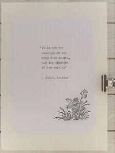 J-R-R-Tolkien-Quote-Vintage-Typed-Hand-Stamped-Embossed