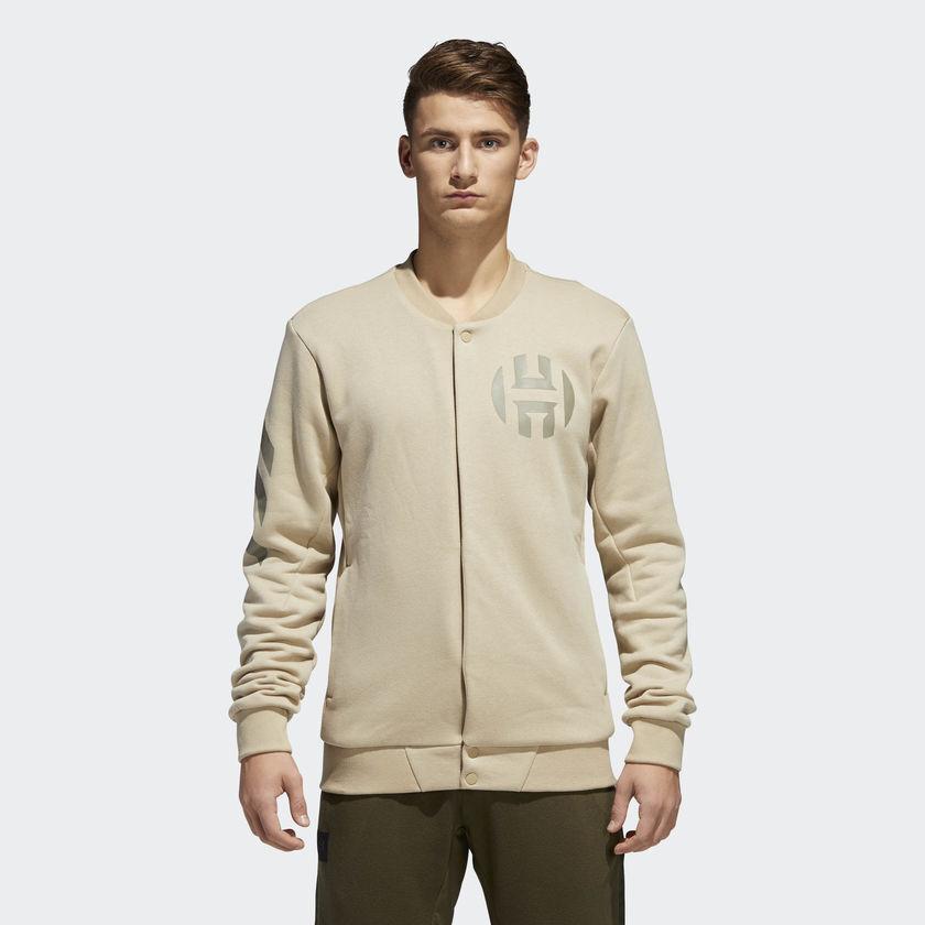 Adidas Gehärtet Uni Herren Neue Jacke Vol. 2 Beige Roh Gold CE7321