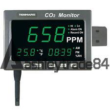 TENMARS TM-186 Large LED Screen CO2:0-9999PPM / Temperature:-20°C ~ +70°C