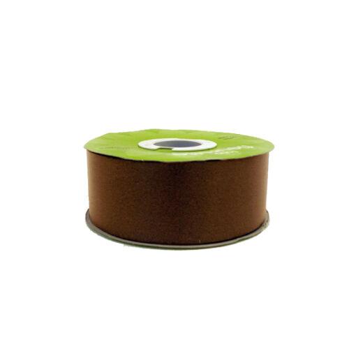 environ 5.08 cm Chocolat Mariage Voiture Ruban 2 in 50 mm de large x 91 m long rouleau
