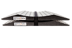 Reifenschoner Set 2 Stück Set Tireplate Reifenplatte EPP Kunststoff Reifenbrett