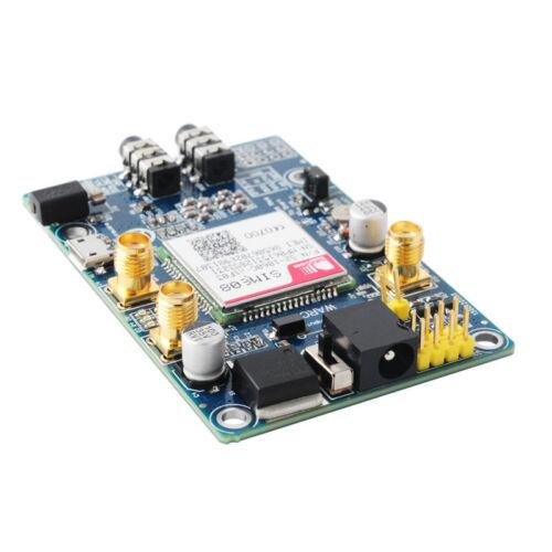 SIM808 Module GSM GPRS GPS Development Board IPX SMA with GPS GSM Antenna